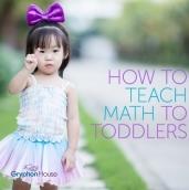 Toddler math
