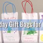 Diy holiday bags