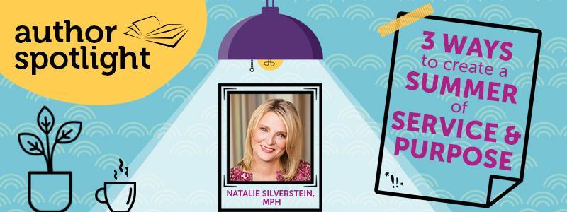 Natalie silverstein author spotlight blog header