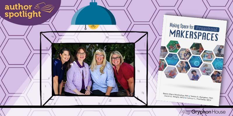Introducing making space for preschool makerspaces blog header