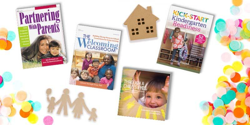 Books for welcoming families flat lay 800x400 blog header