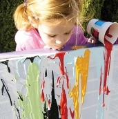 Drip painting activity 600x600 blog thumbnail